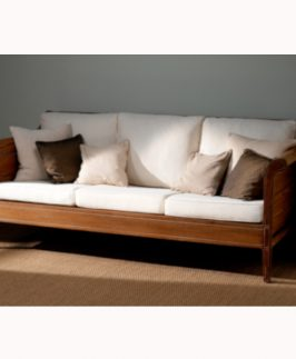Three Seater Sofa - Windmere. Size: 191 cm W x 74 cm D x 77 cm H