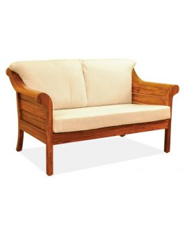 Two Seater Sofa - Windmere. Size: 135 cm W x 74 cm D x 77 cm H