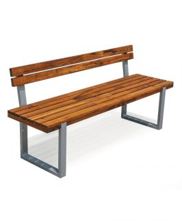 Torro Bench with Back