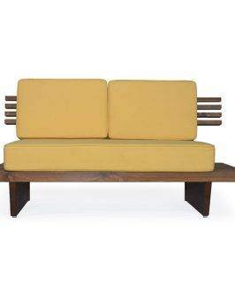 Two Seater Sofa - Newport. Size: 60″ L x 29″ D x 30″ H