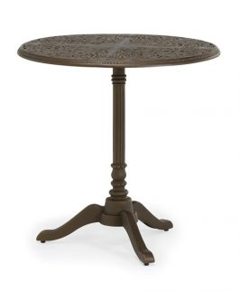 Jekyll Pedestal Table Only - Black