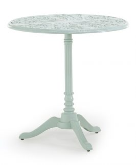 Jekyll Pedestal Table Only - White